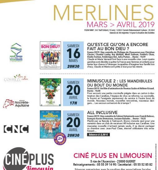 Cinema mars avril 1